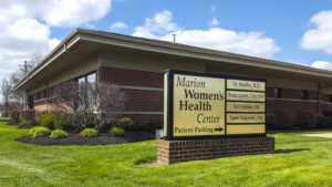 Marion Women's Heath Center Outside Building
