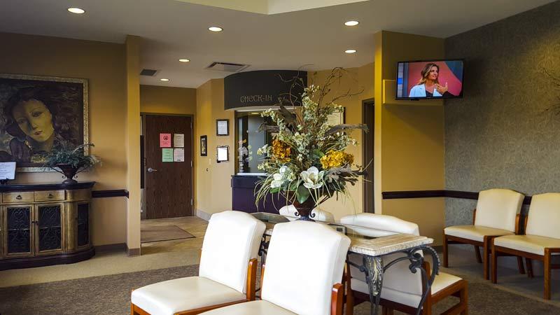 Marion Women's Heath Center waiting room