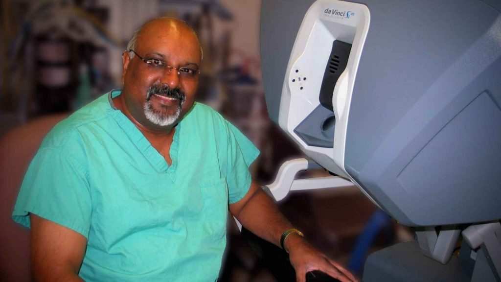 Dr. Jay Moodley da Vinci Robotic Surgery